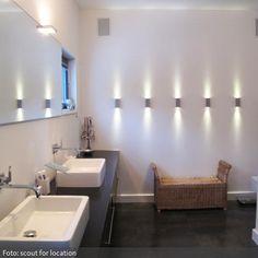 Wandstrahler im Badezimmer   roomido.com