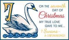 Free 7 Swans eCard - eMail Free Personalized Christmas Cards Online