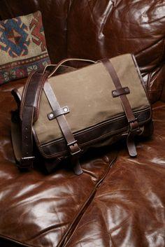 The Wolverine Messenger Bag  http://www.wolverine.com/US/en/1000Mile