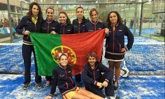 Padel: Seleção feminina sagra-se campeã europeia na Holanda