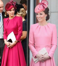 kate middleton pink pleated swing dress celeb inspired custom made - Pink Dresses - Ideas of Pink Dresses Style Kate Middleton, Kate Middleton Dress, Robe Swing, Swing Dress, Duchesse Kate, Kate Dress, Royal Fashion, Duchess Of Cambridge, Adele