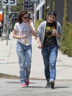 Kristen Stewart and Alicia Cargile in LA 2015 | Pictures | POPSUGAR Celebrity
