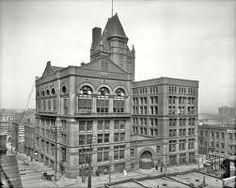Kansas City Board of Trade Building(Kansas City, 1888). Designed by Daniel Burnham & John Wellborn Root. The building was demolished in 1968.