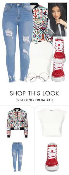 """""""vans"""" by brooklynqueen04 ❤ liked on Polyvore featuring Alice + Olivia, Puma and Vans"""