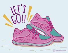 Let's go #Correr #Exercise Inspirate con estos diseños exclusivos, descargalos gratis y aplicalos en donde más te guste! ► DESCARGAR GRATIS en alta calidad