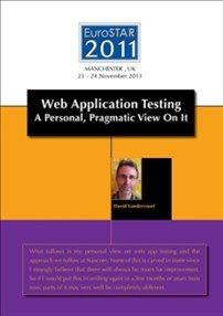 Web Application Testing by David Vandervoot