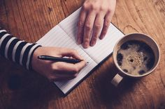 Woman drinking coffee and writing a diary note by Igor Stevanovic on 500px