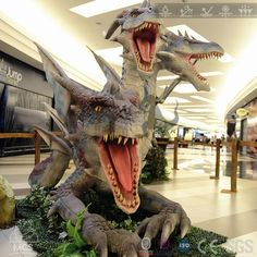 Real Giant Animatronic Dragon Robot Hydra Zemy For Sale-DRA010