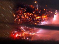 チリのプジェウエ火山00