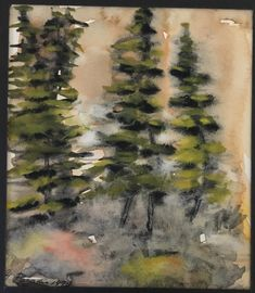 #311, aquarelle, 1978, 5,5 x 6,5'', 30$ Paradis, Painting, Art, Watercolor Paintings, Art Background, Painting Art, Kunst, Gcse Art, Paintings