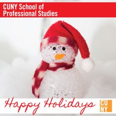Happy Holidays from all of us at CUNY SPS!