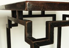Antique Chinese Table - special multi-joint construction.