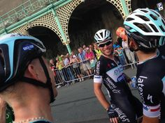 """OPQS """"Pure happiness for @julienvermote. Yet another #OPQS rider with a victory in 2014! #tob2014"""