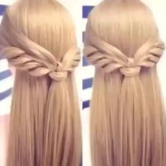 This is a really creative hair tutorial by @cinthiatruong  | #LovelyHairNow