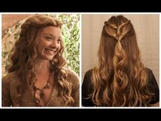 Game of Thrones Inspired: Margaery Tyrell Knot. - YouTube