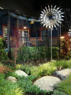 DIY+Yard+Art+Ideas | Surprisingly (since I'm no fan of garden art) I was drawn to the ...