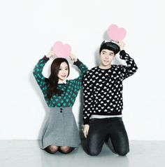 Ulzzang Couple ♥ Edit by Jina na We Heart It - http://weheartit.com/entry/110160526