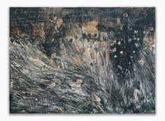 Anselm Kiefer - Oh Halme, ihr Halme, ihr Halme der Nacht  2011  Oil, emulsion, acrylic, shellac and chalk on canvas  280 x 380 x 7 cm