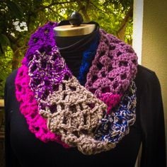 Knitwear, Crochet Necklace, Accessories, Jewelry, Fashion, Moda, Tricot, Crochet Collar, Jewels