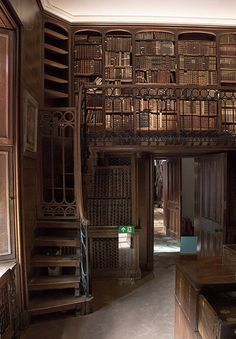 Library, Abbotsford House, England