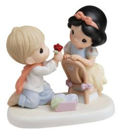 With A Smile And A Song - Disney Collection 740007 | Precious Moments Disney Precious Moments, Precious Moments Figurines, Snow White Prince, Disney Figurines, Collectible Figurines, Seven Dwarfs, Biscuit, Disney Collectibles, Disney Love