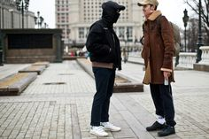 http://chicerman.com  billy-george:  Street styled  Spotted at Moscow Fashion Week  Photo by Asia Typek  #streetstyleformen