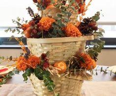 stunning fall centerpiece for under 10, home decor, seasonal holiday decor
