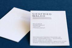 corporate identity Siegfried Walch by www.eine-augenweide.com Corporate Design, Corporate Identity, Magazin Design, Design Studio, Grafik Design, Cards Against Humanity, Advertising, Branding, Brand Design
