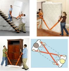 Forearm Forklift Moving Straps – Easily Lift and Move Heavy Objects Lifting Straps, Professional Movers, Objects, Kids Rugs, Gadgets, Nice, Image, Ideas, Kid Friendly Rugs