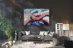 Items similar to Large Painting on Canvas,Original Painting on Canvas,modern wall canvas,abstract originals,huge canvas painting on Etsy Oversized Canvas Art, Large Canvas Art, Abstract Canvas Art, Large Painting, Large Art, Wall Canvas, Painting Art, Textured Painting, Bright Paintings