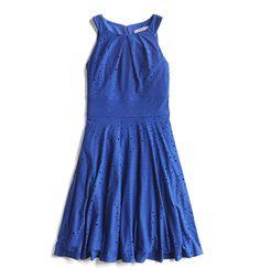 Stitch Fix Summer Stylist Picks: Cobalt Lace Summer Dress