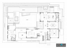 Floor Plan - Luxury Residence - 1307 Sierra Alta Way, Los Angeles, CA