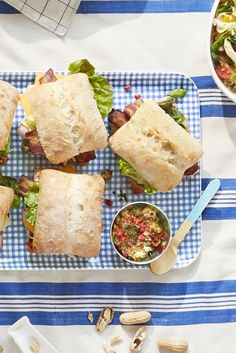 pimiento-salad-club-sandwiches