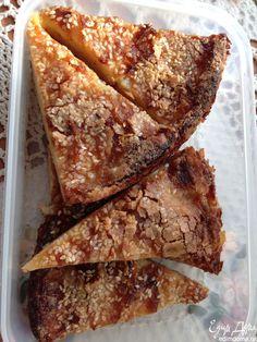 Нежный яблочно-грушевый пирог с хрустящей корочкой | Кулинарные рецепты от «Едим дома!»