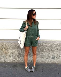 New Balance Sneakers grau mit grünem jumpsuit ZARA kids, mekivi fashionblog