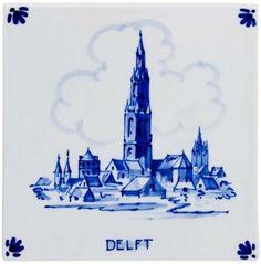 Delfts Blauw - View of Delft