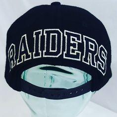 7eaa6ac5075 Raiders American Needle Blockhead  100 shipped on Etsy. Link in   thriftstigators  freeshipping