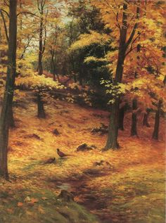 Autumn Gold 👨‍🎨 Joseph Farquharson DL RA May Edinburgh – 15 Apr Finzean) was a Scottish-United Kingdom painter, chiefly of landscapes. He is most famous for his snowy winter landscapes, often featuring sheep & often depicting dawn or dusk. Winter Landscape, Landscape Art, Landscape Paintings, Autumn Painting, Autumn Art, Seascape Art, Dawn And Dusk, Autumn Scenes, Watercolor Trees