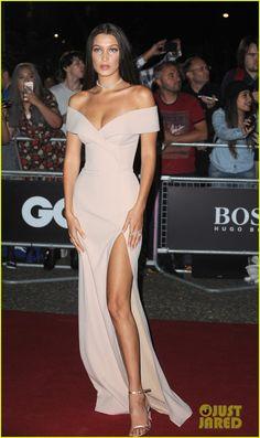 Ashley Graham & Bella Hadid Bring Sexy to GQ's Men of the Year Awards! | bella hadid wins model of the year07614mytext - Photo