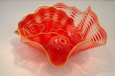 Unique design murano glass plates for wall art