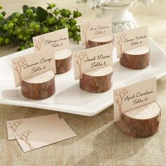 Shop for wedding place cards that make a statement: Pearl-finish wedding place cards, elegant printable cards, and more, all with matching wedding place card holders. Deco Table, A Table, Wedding Places, Wedding Venues, Wedding Ceremony, Wedding In The Woods, Woods Wedding Ideas, Country Wedding Inspiration, Diy Wedding Decorations