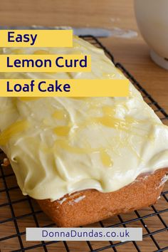 Healthy Cake Recipes, Lemon Recipes, Brownie Recipes, Chocolate Recipes, Baking Recipes, Pudding Recipes, Baking Ideas, Easy Lemon Curd, Lemon Curd Cake