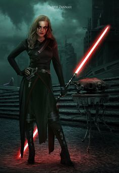 Darth Zannah Sith apprentice to Darth Bane. Thanks to Disney. She was just important to the Rule of Two as Darth Bane was. Rey Star Wars, Star Wars Rpg, Star Wars Jedi, Star Wars Characters Pictures, Star Wars Pictures, Star Wars Images, Star Wars Concept Art, Star Wars Fan Art, Meninas Star Wars