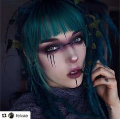 Druide midudrne felvae Article Physique: In case you're not conversant in the Excessive Level Worldw Witchy Makeup, Gothic Makeup, Elf Makeup, Cosplay Makeup, Costume Makeup, Makeup Art, Dark Fantasy Makeup, Fantasy Make Up, Fairy Makeup