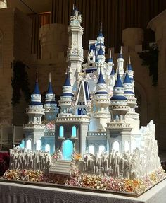 Happy Wedding @alvintanzil and @silvani_ho!Epic castle design wedding cake! Really matches with th...