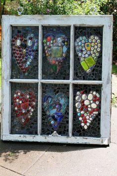 Old window turned beautiful!