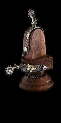Capron Bits and Spurs, Christoval, Texas In conjunction with the Traditional Cowboy Arts Association (TCAA), this workshop will Spurs Western, Cowboy Spurs, Cowboy Gear, Cowboy And Cowgirl, Western Art, Horse Gear, Horse Tack, Custom Cowboy Boots, Spur Straps