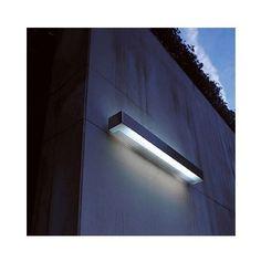 From Y Lighting - over exterior art piece