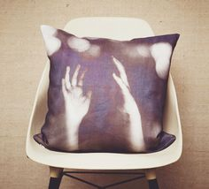 Linen Pillow by OHHSIT! photography by deb schwedhelm
