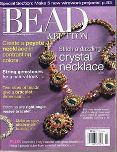 Bead and Button December 2007 Magazine Beads, Magazine Crafts, Beading Tutorials, Beading Patterns, Beaded Jewelry Designs, Diy Jewellery, Handmade Jewelry, Picasa Web Albums, Woven Bracelets
